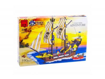 Конструктор Пираты «Корабль путешественников «Приключение» (Brick 307)