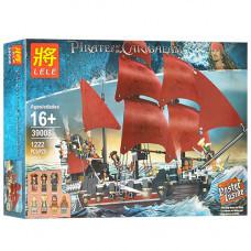 Конструктор Пираты «Месть королевы Анны» (Lele 39008)
