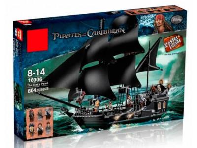 Конструктор Пираты «Корабль Черная жемчужина» (Lele 39009)