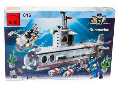 Конструктор Пираты «Подводная лодка» (Brick 816)