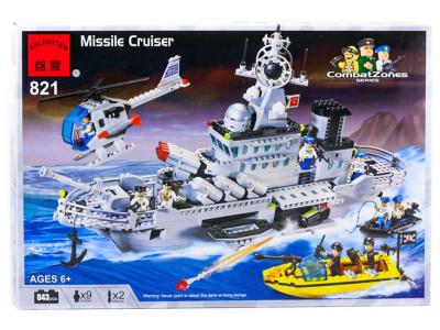 Конструктор Пираты «Ракетный крейсер» (Brick 821)