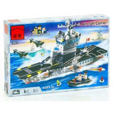 Конструктор Военная серия «Авианосец» (Brick 826)