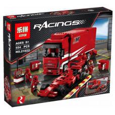 Конструктор  Racers «Грузовик Ferrari» (Lepin 21022)