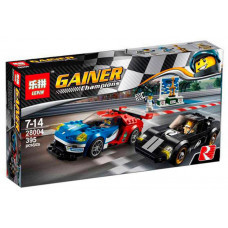 Конструктор  Racers «2016 Ford GT & Ford GT40 1966» (Lepin 28004)