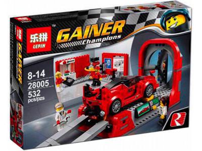 Конструктор  Racers «Ferrari Центр разработки и проектирования» (Lepin 28005)