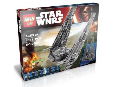 Конструктор Star Wars «Командный шаттл Кайло Рена» (Lepin 05006)