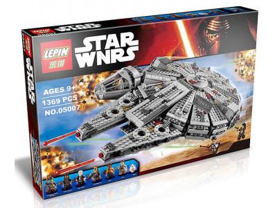 Конструктор Star Wars «Сокол Тысячелетия» (Lepin 05007)