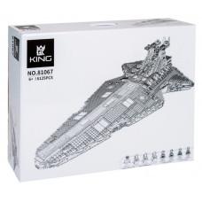 Конструктор Star Wars «Звёздный разрушитель класса Венатор» (King 81067)