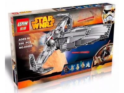 Конструктор Star Wars «Ситхский корабль разведчик Дарта Мола» (Lepin 05008)