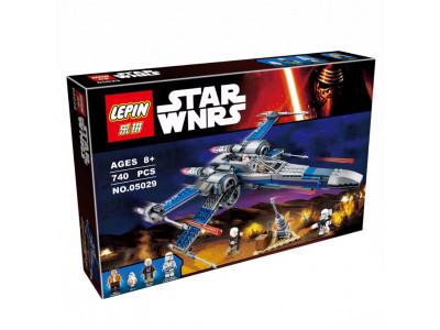 Конструктор Star Wars «Истребитель сопротивления X-Wing» (Lepin 05029)