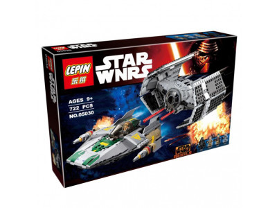 Конструктор Star Wars «Истребитель Дарта Вейдера СИД vs A Wing» (Lepin 05030)