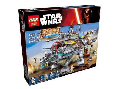 Конструктор Star Wars «Шагоход AT-TE капитана Рекса» (Lepin 05032)