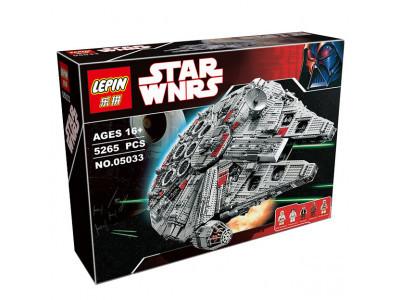 Конструктор Star Wars «Сокол Тысячелетия» (Lepin 05033)