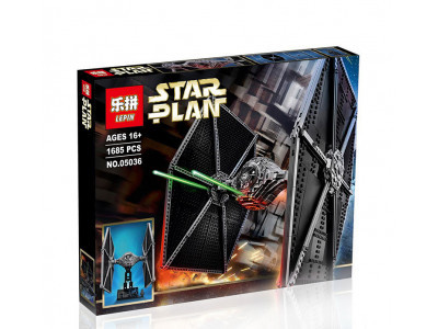 Конструктор Star Wars «Истребитель TIE Fighter» (Lepin 05036)