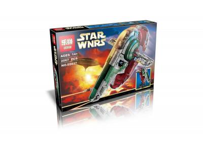 Конструктор Star Wars «Слэйв 1 (Slave I | РАБ-1™)» (Lepin 05037)