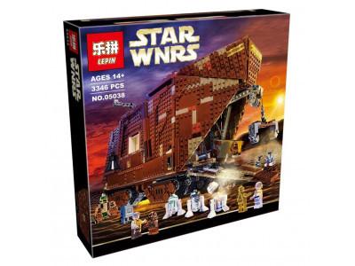 Конструктор Star Wars «Песчаный краулер» (Lepin 05038)