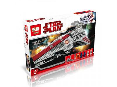 Конструктор Star Wars «Атакующий крейсер республиканцев класса Венатор» (Lepin 05042)