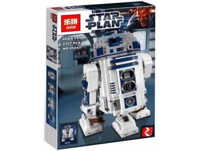 Конструктор Star Wars «Робот R2-D2» (Lepin 05043)