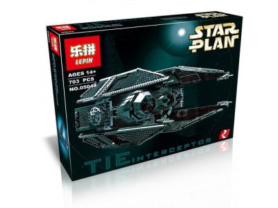 Конструктор Star Wars «Истребитель TIE Interceptor» (Lepin 05044)