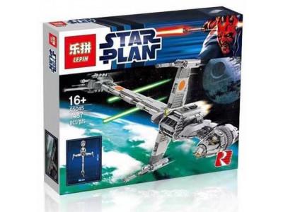 Конструктор Star Wars «Истребитель B-WING» (Lepin 05045)