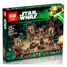 Конструктор Star Wars «Деревня Эвоков» (Lepin 05047)
