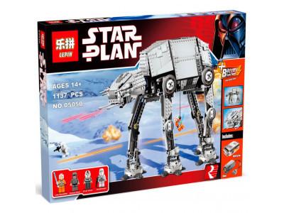 Конструктор Star Wars «Бронированный шагоход AT-AT» (Lepin 05050)