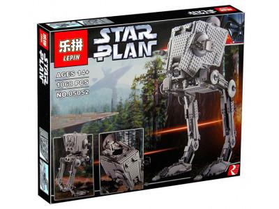 Конструктор Star Wars «Имперский танк-разведчик AT-ST Ultimate» (Lepin 05052)