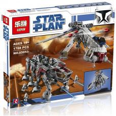 Конструктор Star Wars «Десантный Корабль с AT-OT шагоходом» (Lepin 05053)