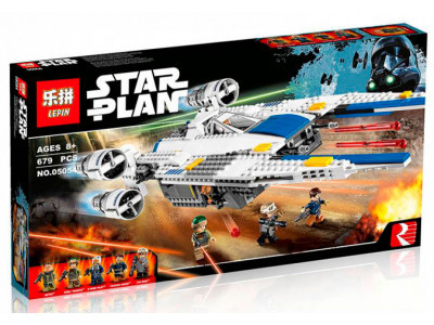 Конструктор Star Wars «Истребитель Повстанцев U-Wing» (Lepin 05054)
