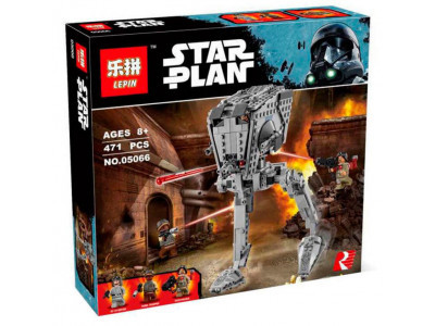 Конструктор Star Wars «Разведывательный транспортный шагоход AT-ST» (Lepin 05066)