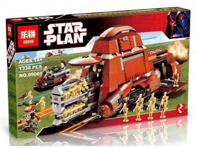 Конструктор Star Wars «МТТ Торговой Федерации» (Lepin 05069)