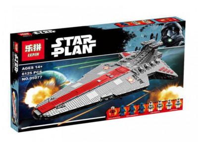 Конструктор Star Wars «Звёздный разрушитель класса Венатор» (Lepin 05077)