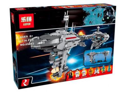 Конструктор Star Wars «Небулон-Б Медицинский фрегат» (Lepin 05083)