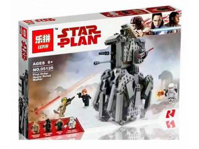 Конструктор Star Wars «Шагоход разведывательный первого ордена» (Lepin 05126)