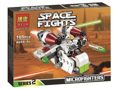 Конструктор Star Wars «Республиканский истребитель» (Bela 10363)