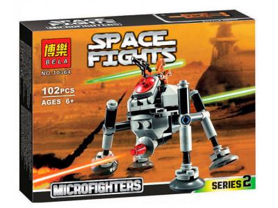 Конструктор Star Wars «Самонаводящийся дроид-паук» (Bela 10364)