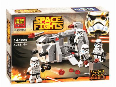 Конструктор Star Wars «Транспорт Имперских войск» (Bela 10365)