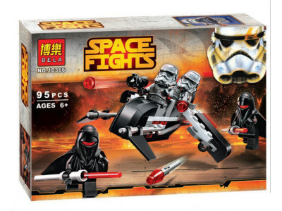 Конструктор Star Wars «Воины тени» (Bela 10366)
