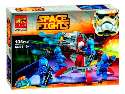 Конструктор Star Wars «Элитное подразделение Коммандос Сената» (Bela 10367)
