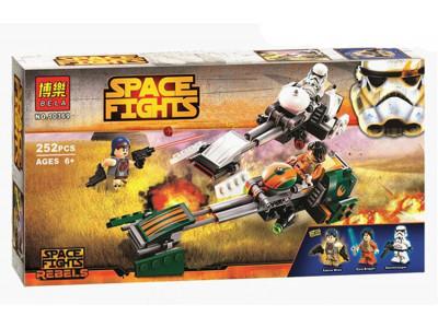 Конструктор Star Wars «Скоростной Спидер Эзры Бриджера» (Bela 10369)