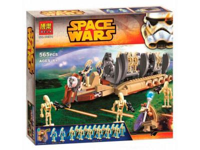 Конструктор Star Wars «Перевозчик боевых дроидов» (Bela 10374)