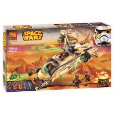 Конструктор Star Wars «Боевой корабль Вуки» (Bela 10377)