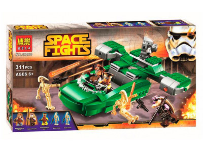 Конструктор Star Wars «Флеш-спидер» (Bela 10463)