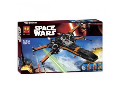 Конструктор Star Wars «Истребитель Дэмерона По» (Bela 10466)