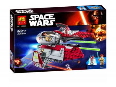 Конструктор Star Wars «Перехватчик джедаев Оби-Ван Кеноби» (Bela 10575)