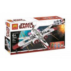 Конструктор Star Wars «Звездный истребитель ARC-170 Starfighter» (Lele 35004)