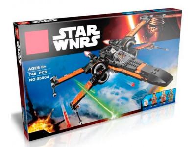 Конструктор Star Wars «Истребитель Дэмерона По» (Lele 79209)