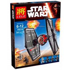Конструктор Star Wars «Истребитель особых войск Первого Ордена» (Lele 79210)