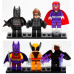 Набор из 6 персонажей Super Heroes «Мстители» (Decool 0184-0189)