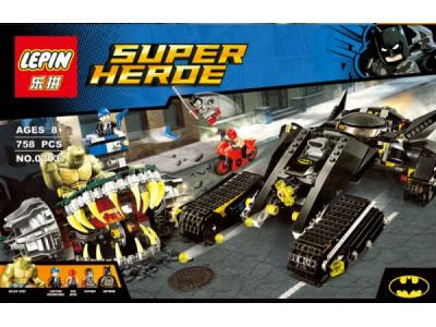 Конструктор Super Heroes «Бэтмэн: убийца Крок» (Lepin 07037)